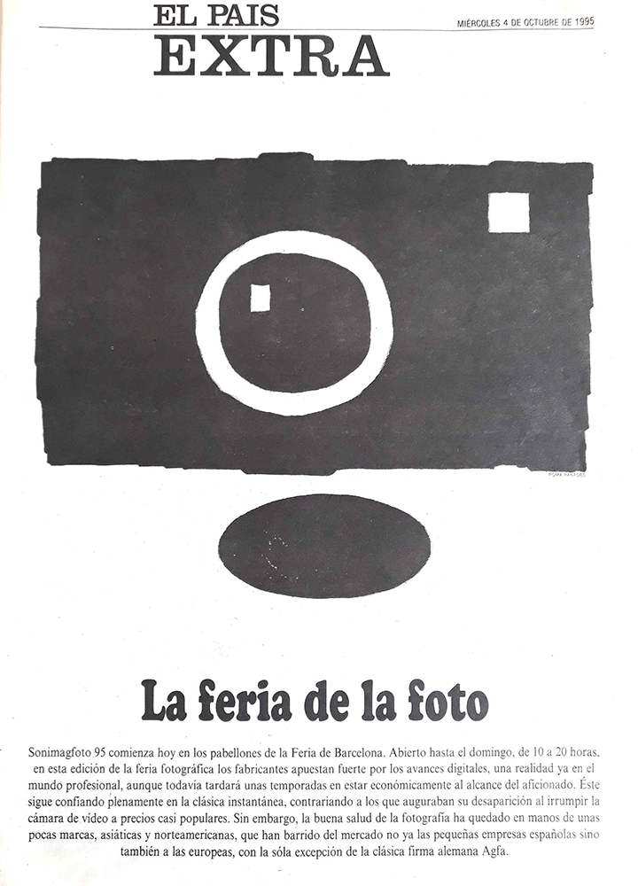Collaborative work with El País